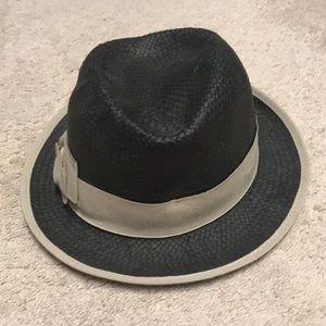 Beach Straw Fedora Hat